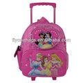 los niños de la escuela bolsas con ruedas