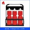 advertise plastic 6 pack bottle carrier for hold bottle
