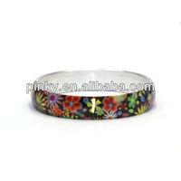 2013 cheap indian bangles aluminum brilliantly bracelet