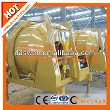 High performance JZR series concrete mixer with hoist