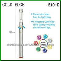 Newest 510-X color led e-cig