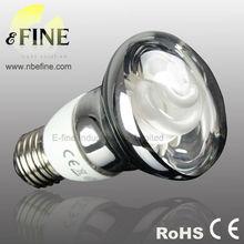 R63 bulb CFL reflector 11W E27 mirror cover