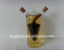 High Quality Borosilicate Mouth Blown Bodum Glass Oil And Vinegar