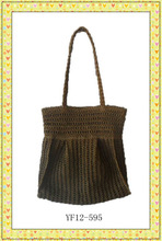 2013 new design hand crochet bag for women