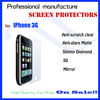 Anti-glare matte screen protector for Iphone 3G