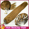 Hot beauty hair extensions micro link brazilian hair