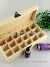 Customized wood box essential oil wood box