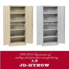 Modern design steel furniture 71 by 35 by 18 inch 2 door metal wardrobe closet