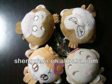 hot sale plush and stuffed bear monkey and keychain