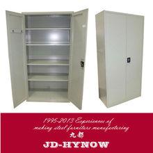 Modern design teel furniture 71 by 35 by 18 inch metal wardrobe fittings