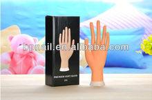 hand model nail art training hand acrylic nails practice hand