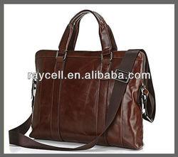 western European fashion vintage Leather portfolio bag manufacture from Alibaba China