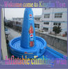 KF-009 Inflatable rocking moutain for climbing