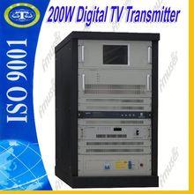 200W LDMOS Amplifier tv transmitter broadcast tv converter D2