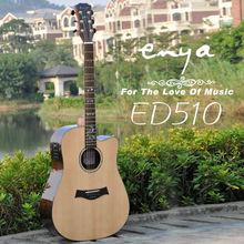 Enya Cutaway Acoustic Guitar E510 Series,musical instrument oil painting