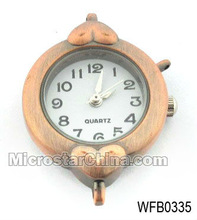 Antique copper jewelry making watch faces