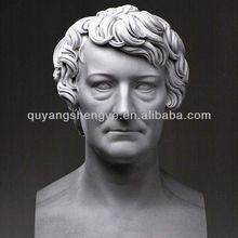 Bust Of Famous Bertel Thorvaldsen Marble Sculpture