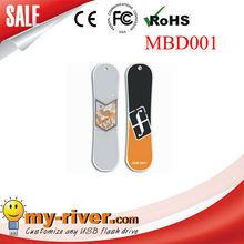 Snowboard UDP usb stick customize gift logo promotion