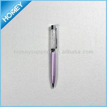 Metal crystal pen,diamond pen