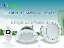 AC86-265V 2.4G RF Wireless Intelligent 4-zones Remote Colour Temperature Downlight,12w