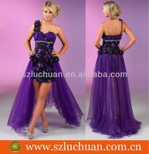 Elegant fashion one shoulder prom dresses 2012