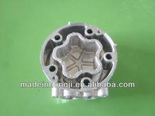 Aluminum alloy casting back cover for motor part