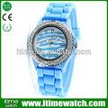itimewatch ginebra diamante de cuarzo reloj resistente al agua
