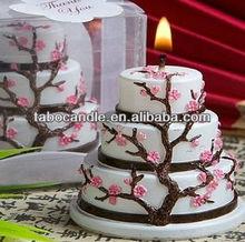 good design candles wedding favors