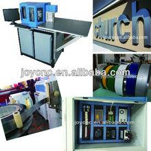 Cnc canal lettre bender machine pour aluminium et de zinc matériau