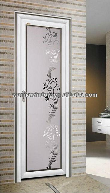 Bathroom Aluminum Door Design View Bathroom Door Wj Product Details From Foshan Wanjia Window