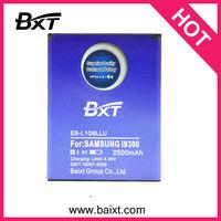 Baixt Brand High Capacity 2500mAH Li-ion Mobile Phone Battery For Samsung Galaxy S3 Gt i9300 Battery