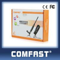 COMFAST CF-WU880N Realtek RTL8192CU 300Mbps 2000mw wireless usb adapter