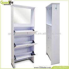 Dresser mirror MDF wood shoe rack closet organizers