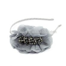 Crystal bridal headband for wedding party