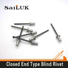 Aluminum steel hollow rivet/mandrel nickel plated