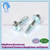 galvanized decorative screw with washer