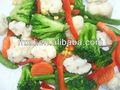 a granel de verduras congeladas