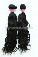 High quality 100% Indian human hair weft/weave