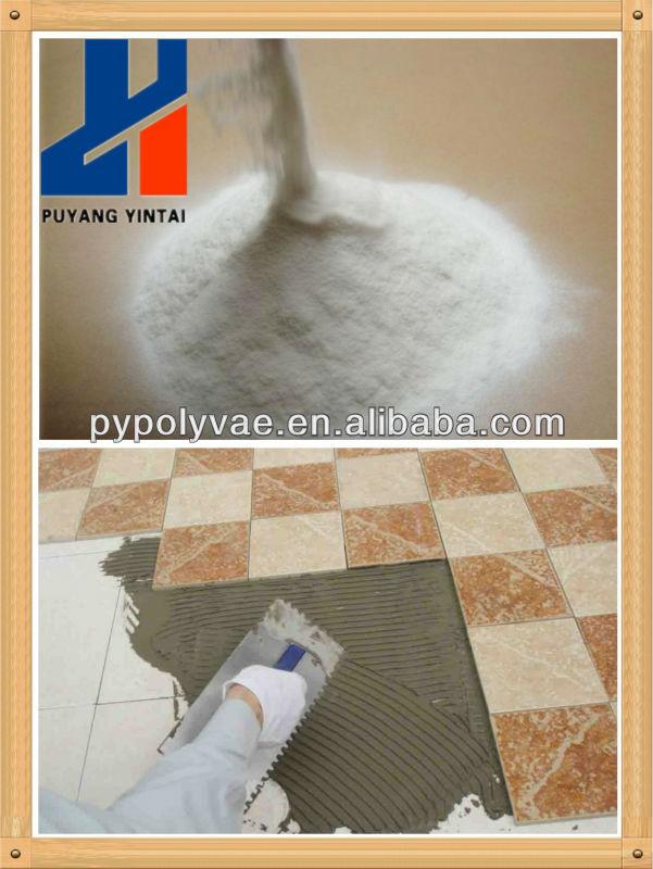 Vinyl acetate/ethylene copolymer powder for concrete