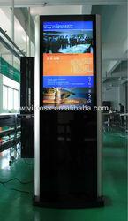 55 inch advertising factory information kiosk computer advertisement
