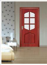 Solid Wood Door antique style in cherry color
