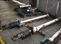 servomotor hidráulico do cilindro
