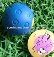 Pet Vinyl Toy Dog of Feeder Ball