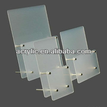2013 hot sell head up Acrylic box container for brochure display