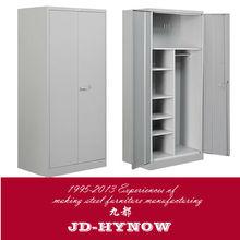 2013 popular modern design factory price double door metal locker storage steel locker cheap wardrobe office steel furniture