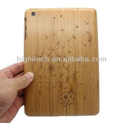 New Dandelion Natural Bamboo Hard Case for Apple iPad Mini