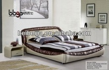 classic design wooden bed