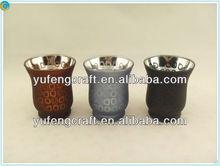 glass candle jar,votive glass candleholder ,wedding decoration centerpiece