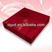 high quality rectangle tea/wine paper gift box