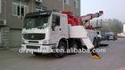 sinotruk heavy recovery vehicle